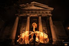 Das Angel in Paris.  Photographer and Pyrotechnician:  Benjamin Von Wong - such an amazing pictures!