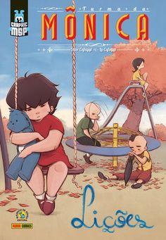 Confira as imagens da nova graphic novel da Turma da Mônica: Lições | Design Culture