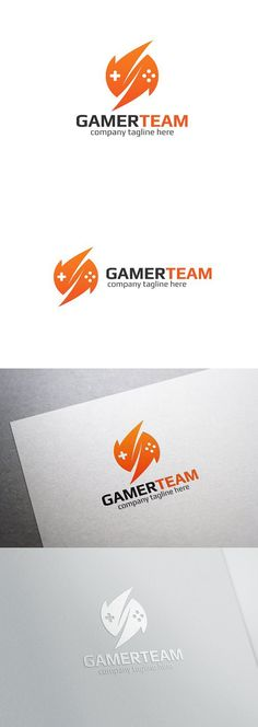 Gamer Team Logo. Logo Templates