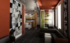 Cafè interior design...