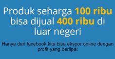 Peluang Ekspor online dari facebook