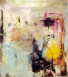 Lars Kristian Hansen bruger ikke kun pensel, men ofte også tuscher, kridt og kul.