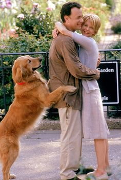 You've Got Mail-one of my all-time favorites & watched this a few times. Meg Ryan has one of the nicest hair & smile.