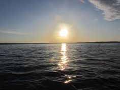 sunrise over Oneida Lake