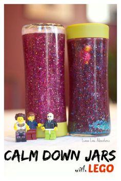 Lego Calm Down Jar | Love these!