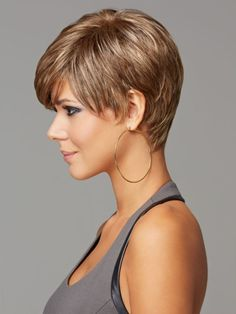Short hairstyles for thick hair for square faces
