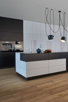 60 the inspiring luxury kitchen cabinet colors and stories 1 Home Decor Kitchen, Kitchen On A Budget, Kitchen Interior, Kitchen Ideas, Modern Kitchen Cabinets, Kitchen Cabinet Colors, Modern Kitchen Island, Contemporary Kitchen Design, Design Kitchen