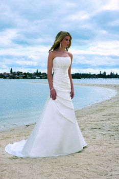 Pretty!!  Don't know where the dress is from, but I like the style.