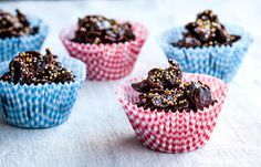 Speckled chocolate cornflakes