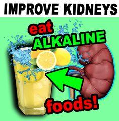 #kidneydisease #kidneyfailure #dialysis #chronickidneydisease #diabetes #highbloodpressure #creatinine #kidneyrepair #kidneyhealth #00kidney Kidney Disease Stages, Chronic Kidney Disease, Kidney Health, Kidney Failure, Dialysis, Alkaline Foods, High Blood Pressure, Diabetes, Eat