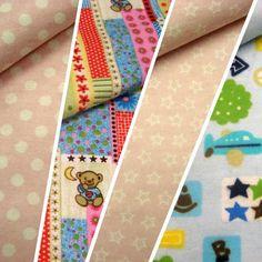 Franela estampada 100% algodón // Patterned flannel 100% cotton #tela #teixitsbaig #teixits #tejidos #fabric #flannel #franela #bebes #baby