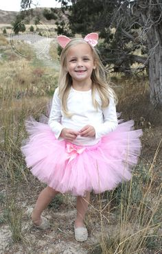 Handmade Tutus and Costumes by Happy Bubkin! Listing includes: *Pig Costume�
