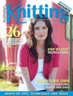 Australian Knitting Volume 7 №4 - 轻描淡写的日志 - 网易博客