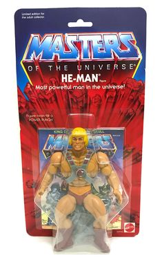 174ca26d Masters Of The Universe Commemorate Series He-Man Twist Power Punch Figure