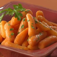 "Take advantage of convenient mini (""baby"") carrots to make this simple but sophisticated classic French side dish."