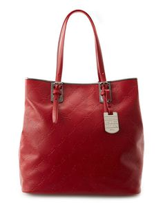 Longchamp 'LM Cuir' Large Tall Leather Shopper