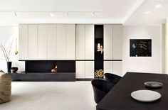 Trendy Apartment with a Bright Open Interior by PS Architects