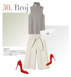 """No. 30"" by pattykake ❤ liked on Polyvore featuring Christian Louboutin, The Row and Boohoo"