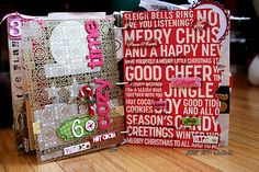 Inspiration for Generation C 2.00: My December Daily/Journal Your Christmas Mini 2012 Part 1