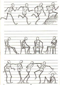 Ideas For Drawing Body Human Art Stick Figure Drawing, Human Figure Drawing, Figure Drawing Reference, Animation Reference, Art Reference Poses, Gesture Drawing, Body Drawing, Anatomy Drawing, Drawing Lessons