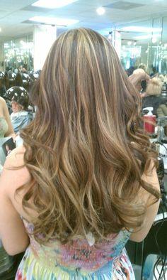 Blonde Highlights Brown Hair