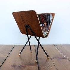 Molded Plywood Magazine Rack