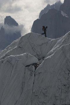 On the ridges of Gasherbrum II