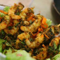 #Apple #Cider #Vinegar is definitely a health Boosting product but it will taste good too.Check out the recipe of Prawns made in Apple Cider Vinegar. Recipe Credit ~ Ishika Uppal​
