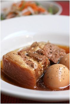 thit kho braised pork by Ravenous Couple, via Flickr, Cambodians eat this too.yummy