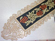 Gallery.ru / Фото #66 - ccc - ergoxeiro Point Lace, Hand Embroidery, Macrame, Crochet, Angles, Minka, Ideas, Ganchillo