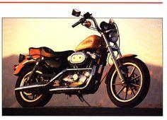 Stock 1991 Harley Davidson XLH 1200