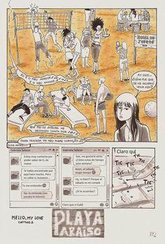 Memorias de una dibujante responsable y otros cuentos sobre Superchicas.: Playa Paraíso Página 1