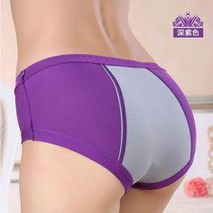 Leakproof Menstrual Modal Activewear Underwear