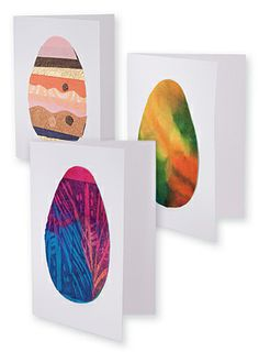 Easy Art Craft Activities   Primary School Activities   Easter ... How to make Easter Cards: