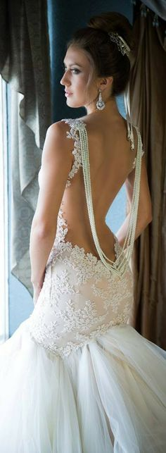 Daring yet beautiful Galia Lahav ♥✤ | KeepSmiling | BeStayClassy