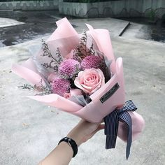 Pastel-hued bouquet