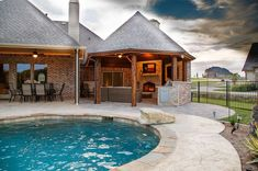 A custom designing of the pool area is done with the use of tree wood for the layout of this gazebo idea. This gazebo will provide you a covered space so that you can attractively spend your leisure time at the fascinating setting of your home sweet home. All the ambience will reshape the humdrum display of your outdoor.