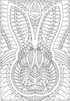 Creative Haven Insanely Intricate Angular Animals Coloring Book Welcome to Dover…