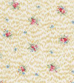 "Keepsake Calico Cotton Fabric 43""-Feminine Ditsy Floral"