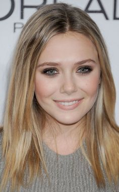 Elizabeth Olsen smudged eyeshadow tutorial. #howto #makeup #beauty