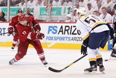 The Coyotes out played the Predators and took them out in 5 games. They will now face the LA Kings in the Western Conference Final Series (round 3) of the 2012 Stanley Cup Playoffs.