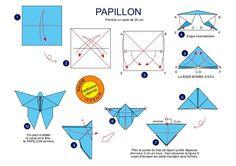 » Atelier pliage…. le papillon…. Le blog d'Histoire Géographie….