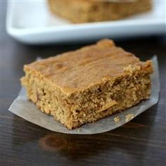 """Peanut Butter Blondie Brownies   """"I made these as written and my family loved them."""""""