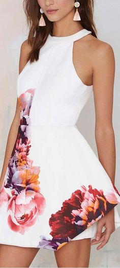 to the end floral dress