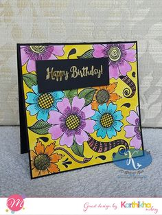 Mudra Craft Stamps: Let's Party Craft Stamps, Party, Crafts, Design, Manualidades, Parties, Handmade Crafts, Craft
