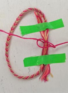 DIY ♥ Verstelbare knoop, adjustable knot