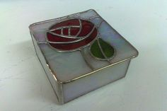 Mackintosh Rose Stained Glass box - 4x original size | Flickr - Photo Sharing!
