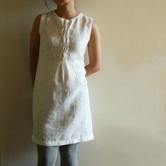 linen dress by PAMELATANG  well go figure, it's not a tutorial and the chick's stuff is no longer on Etsy...Still really like it!
