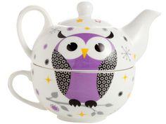 Owl tea pot