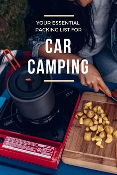 A packing list for all the camping essentials you'll need to kick off a fun camping trip. Jeep Camping, Camping Packing, Camping List, Camping Meals, Camping Hacks, Camping Solo, Camping Outfits, Camping Activities, Backpacking
